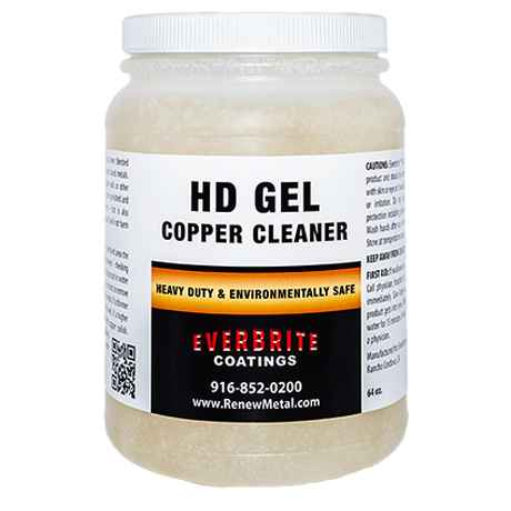 HD Copper Cleaning Gel 64 Oz