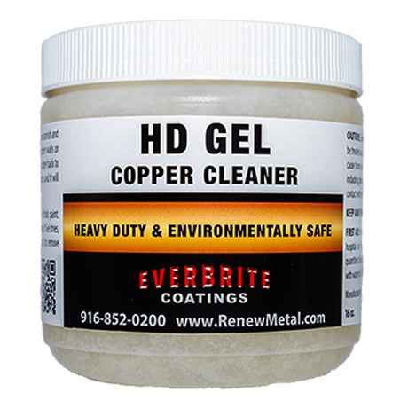 HD Copper Cleaning Gel 16 oz